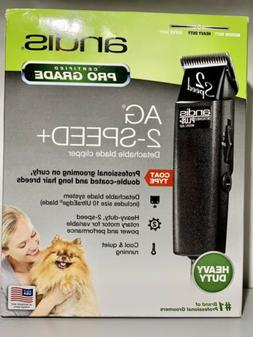 Andis ProClip AG2 Plus 2-Speed Detachable Blade Clipper Dog
