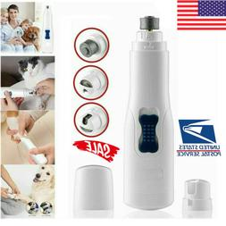 Professional Pet Dog Cat Nail Trimmer Grooming Tool Grinder