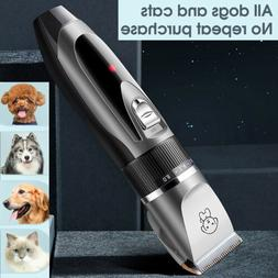 Professional Pet Grooming Kit Dog Cat Clipper Hair Trimmer Q