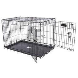 """Petmate """"ProValu"""" Wire Dog Crate, Two Doors, Precision Lock"""