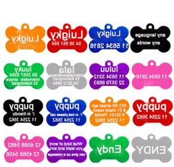 Providence Engraving Pet ID Tags 8 Shapes Colors to Choose f