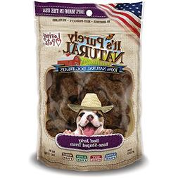 Loving Pets Products It's Purely Natural Beef Jerky Bone-Sha