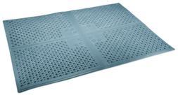 Purr-Fect Paws Cat Litter Mat, X-Large, Blue