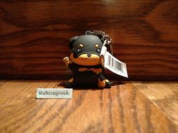 Purrfect Pets Puppies Figural Keyring 3 Inch Rottweiler