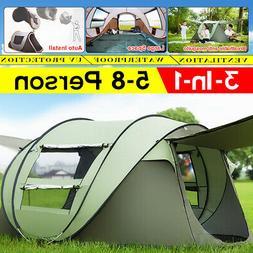 Quick-open Tent Outdoor Camping Field Tent Camping Rainproof