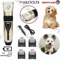 Quiet Professional Pet Clipper Dog Grooming Kit Shaver for L