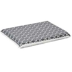 Midwest QuietTime Defender Series Reversible Crate Grey Mat