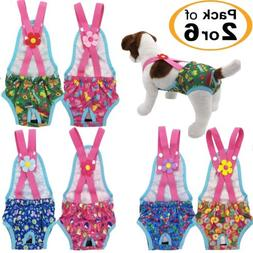 rack 2 or 6 female dog diapers