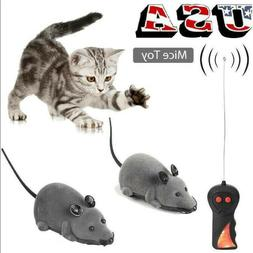 RC Funny Wireless Electronic Remote Control Mouse Rat Pet To