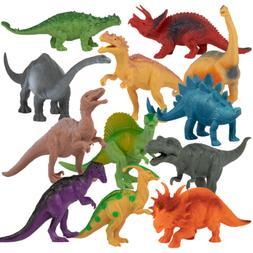 "Realistic Dinosaur Toys - 7"" Educational Models for Boys & G"