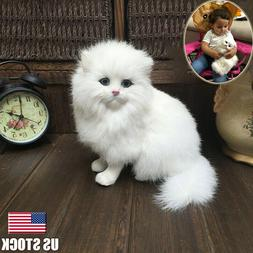 Realistic Persian Cat Pet Plush, Kids & Children Stuffed Ani