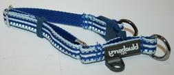 Blueberry Pet Reflective Multi-Colored Stripe Dog Collar - S