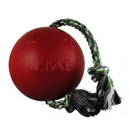 "Romp-N-Roll Ball Size: 20"" H x 8"" W x 8"" D, Color: Red"