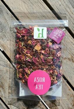 ROZA Fragrant Rose Petal Vitamin C Immune Herbal Loose Leaf