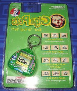 Giga Pets KFC Bitty Kitty Electronic Keychain Tiger New  Vir