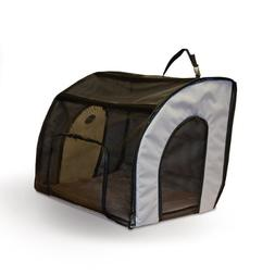 K&H Manufacturing Travel Safety Carrier Medium Gray 24-Inch