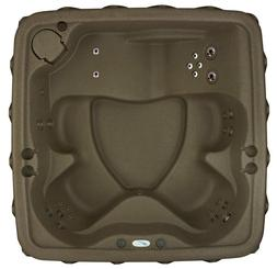 SALE-5 PERSON HOT TUB w LOUNGER- 29 JETS-OZONE SYSTEM-BROWNS
