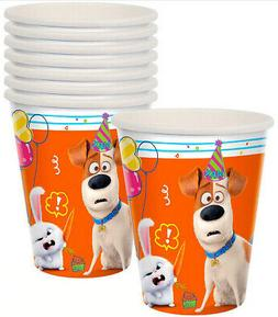 SECRET LIFE OF PETS 2 Birthday party supplies hot/cold PAPER