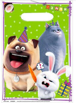 SECRET LIFE OF PETS 2 Birthday party supplies plastic LOOT B