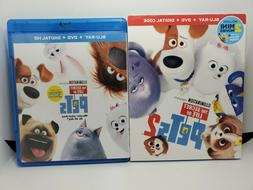 Secret Life Of Pets 2 Blu-ray DVD Gift Set Limited Edition W