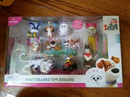 Secret Life of Pets 2 Deluxe Pet Collection 10 Pack Toy Acti