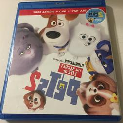 Secret Life of Pets 2 Movie Blu-Ray Disc Only