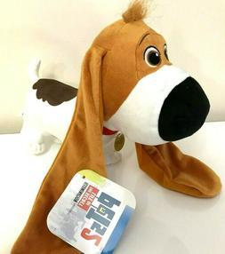Secret Life of Pets 2 Plush Toy Tiny Basset Hound Dog.Large.