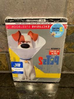 Secret Life of Pets 2 SteelBook 4K Ultra HD + Blu-Ray + Digi