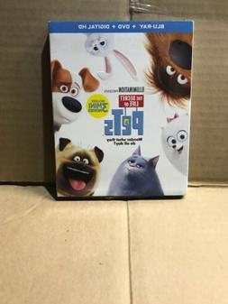 Secret Life Of Pets Blu Ray/DVD Set  Brand New In Wrap!