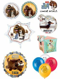 Secret Life Of Pets Foil Balloons Party Ware Decoration Nove