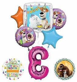 Mayflower Products Secret Life of Pets Party Supplies 3rd Bi