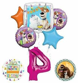 Mayflower Products Secret Life of Pets Party Supplies 4th Bi