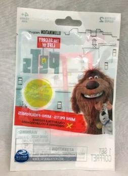 Secret Life Of Pets Sealed Blind Bag Lot Of 3 Packs Mini Fig