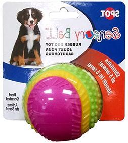 "Ethical Pets Sensory Ball Dog Toy, 3.25"""