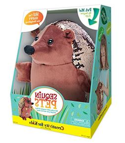 Creativity for Kids Sequin Pets Stuffed Animal - Happy the H
