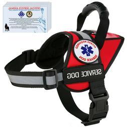 Service Dog Harness Reflective Vest Waterproof - No Pull Han