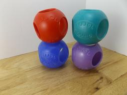 Jolly Pets Set Of 4 4.5 Critter Ball Toy Ferrets Mice Hamste