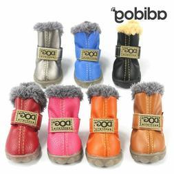 Shoes Winter Super Warm 4pcs/set Dog's Boots for Small Pet P