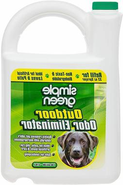 Simple Green Outdoor Odor Eliminator for Pets Dogs 1 gallon