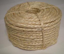 "1/4"" x 100' Sisal Rope"