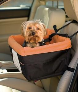Skybox Dog Booster Car Seat Color: Black/Orange