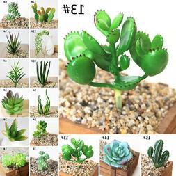 Small Artificial Pot Succulent Plant Fake Bonsai Home Garden