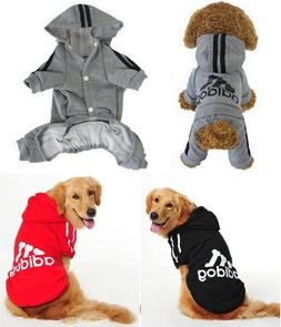 Small-Large Pet Dog Puppy Clothes Outfits Sweater Hoodie Jac
