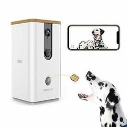 Vbroad Smart Pet Camera Treat Dispenser, 2.4G WiFi Remote Ca