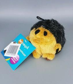 soft bite squatter hedgehog plush squeak toy