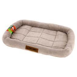 "Vibrant Life, Soft Crate Mat, Pet Bed, Small, Beige, 24"""