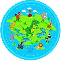 Spray Play Pad for Kids Baby Pets Splash Pad Mat Water Wadin