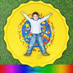 Sprinkler for Kids Baby Pets Outdoor Splash Pad Large Water