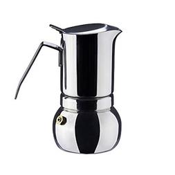 Stainless Steel Italian Espresso Coffee Maker Stovetop Moka