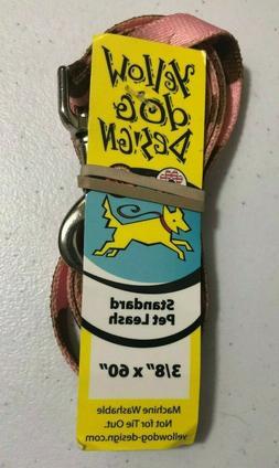 "Yellow Dog Design Standard Pet Leash 3/8"" x 60"" NEW BJ"